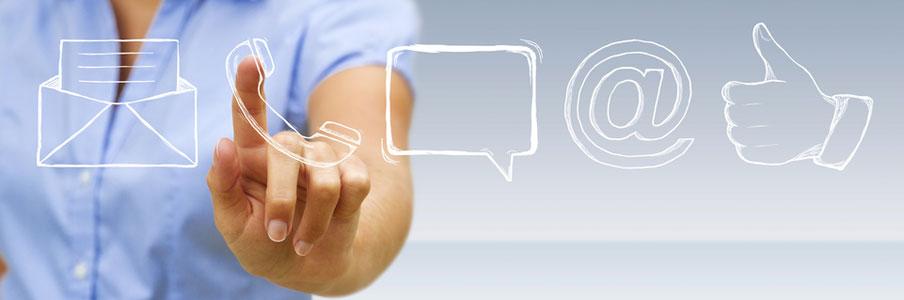 Verschiedene Arten der Kommunikation mit unseren Produkten automatisieren. und Prozesse optimieren.